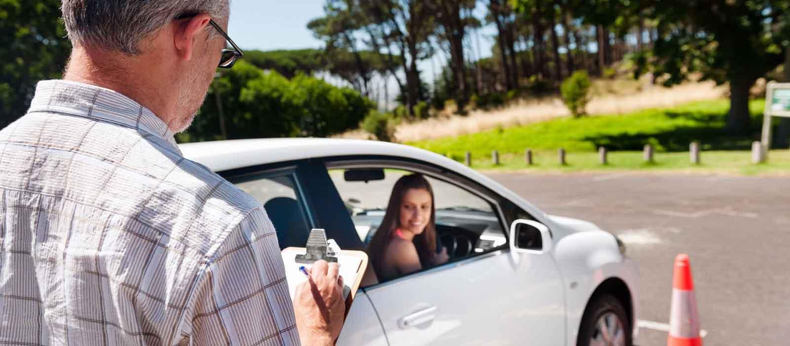 Предоставление автомобиля на экзамены